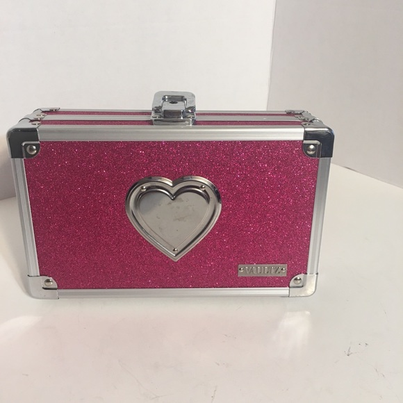 Other - Vaultz Shimmery Pink Belongings Box!